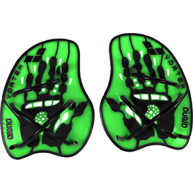 arena Vortex Evolution Handpaddel, acid lime-black